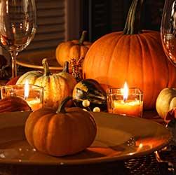 Halloween dekoráció töklámpás